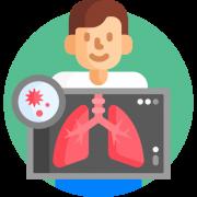 Icon representing health screening